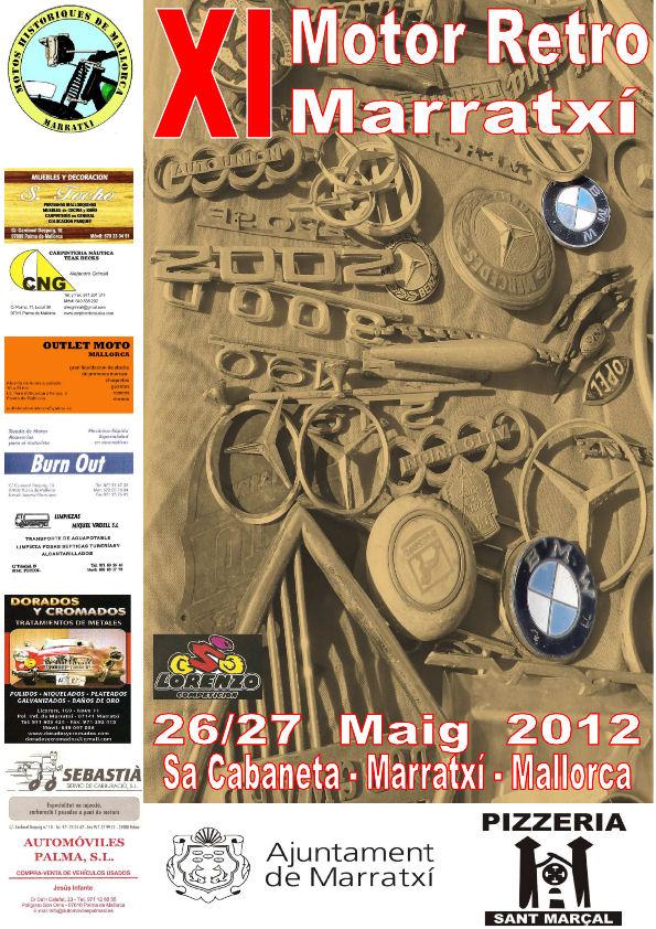 XI Feria Moto Retro 2012 MALLORCA Retro_2012